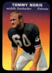 1970 Topps Glossy #1  Tommy Nobis  Front Thumbnail