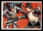 1966 Topps Batman Black Bat #23 BLK  Umbrella Duel Front Thumbnail