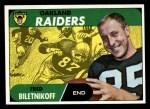 1968 Topps #168  Fred Biletnikoff  Front Thumbnail