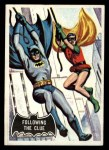 1966 Topps Batman Black Bat #40 BLK  Following the Clue Front Thumbnail