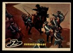1958 Topps Zorro #42   Surrounded Front Thumbnail