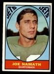 1967 Topps #98  Joe Namath  Front Thumbnail