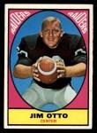 1967 Topps #105  Jim Otto  Front Thumbnail