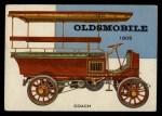 1954 Topps World on Wheels #113   Oldsmobile Coach 1905 Front Thumbnail
