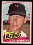 1965 Topps #362  Don Schwall  Front Thumbnail