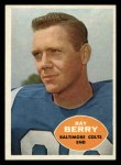 1960 Topps #4  Ray Berry  Front Thumbnail