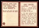1967 Philadelphia #35  Gale Sayers  Back Thumbnail