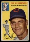 1954 Topps #7  Ted Kluszewski  Front Thumbnail