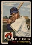 1953 Topps #249  Ed O'Brien  Front Thumbnail