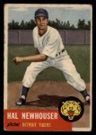 1953 Topps #228  Hal Newhouser  Front Thumbnail