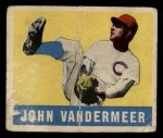 1948 Leaf #53  Johnny Vander Meer  Front Thumbnail