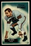 1955 Bowman #37  Lou Groza  Front Thumbnail