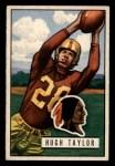 1951 Bowman #108  Hugh Taylor  Front Thumbnail