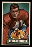 1951 Bowman #140  Leo Nomellini  Front Thumbnail