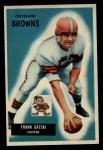 1955 Bowman #119  Frank Gatski  Front Thumbnail