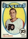 1971 Topps #62  Wayne Hillman  Front Thumbnail