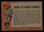 1965 Topps Battle #19   Hand to Hand Combat  Back Thumbnail