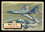 1957 Topps Planes #65 RED  Bell X-2 Front Thumbnail