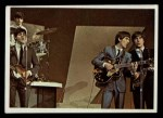 1964 Topps Beatles Color #55   Beatles performing Front Thumbnail