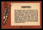 1966 A and BC England Battle #24   Trapped! Back Thumbnail