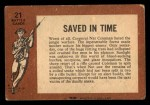 1966 A and BC England Battle #21   Saved In Time Back Thumbnail