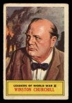 1966 A and BC England Battle #66   Winston Churchill Front Thumbnail