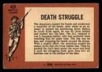 1966 A and BC England Battle #49   Death Struggle Back Thumbnail