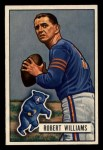 1951 Bowman #14  Robert Williams  Front Thumbnail