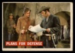 1956 Topps Davy Crockett #65 ORG  Plans For Defense  Front Thumbnail