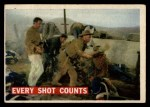1956 Topps Davy Crockett #72 ORG  Every Shot Counts  Front Thumbnail