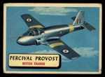 1957 Topps Planes #30 RED  Percival Provost Front Thumbnail