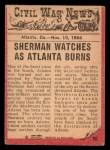 1965 A and BC England Civil War News #80   City in Flames Back Thumbnail
