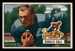 1951 Bowman #61  Donald Doll  Front Thumbnail