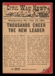 1965 A and BC England Civil War News #2   President Jeff Davis Back Thumbnail