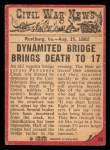 1965 A and BC England Civil War News #29   Bridge of Doom Back Thumbnail