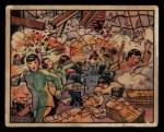 1938 Gum Inc. Horrors of War #154   Jap Planes Bomb Uniform Factory at Canton Front Thumbnail