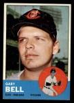 1963 Topps #129  Gary Bell  Front Thumbnail