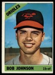 1966 Topps #148  Bob Johnson  Front Thumbnail