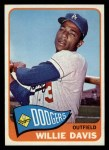 1965 Topps #435  Willie Davis  Front Thumbnail