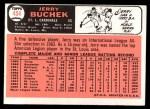 1966 Topps #454  Jerry Buchek  Back Thumbnail