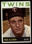 1964 Topps #290  Bob Allison  Front Thumbnail
