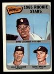 1965 Topps #553   -  Jack McClure / Dan Coombs / Gene Ratliff Astros Rookies Front Thumbnail