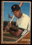 1962 Topps #347  Chuck Hinton  Front Thumbnail