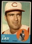 1963 Topps #225  Joey Jay  Front Thumbnail