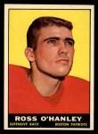 1961 Topps #178  Ross O'Hanley  Front Thumbnail