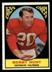 1967 Topps #62  Bobby Hunt  Front Thumbnail