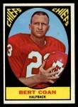 1967 Topps #63  Bert Coan  Front Thumbnail