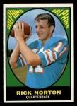 1967 Topps #77  Rick Norton  Front Thumbnail