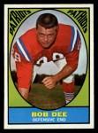 1967 Topps #14  Bob Dee  Front Thumbnail