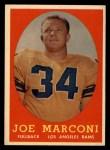 1958 Topps #63  Joe Marconi  Front Thumbnail